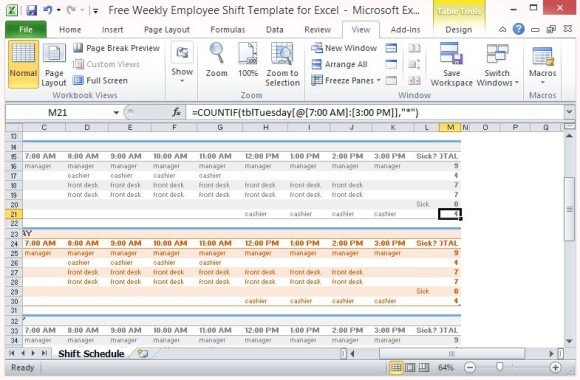 excel template for employee schedule - Minimfagency - excel template for employee scheduling
