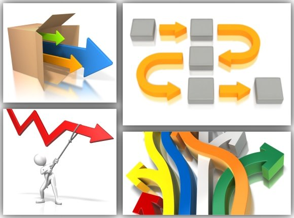 PowerPoint Arrow Templates And Clipart For Presentations