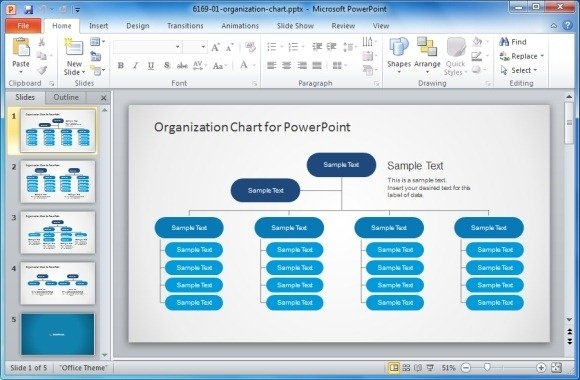 Best Organizational Chart Templates For PowerPoint