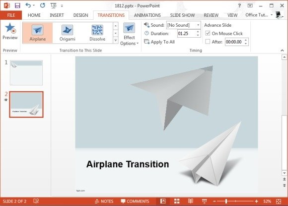 Best PowerPoint Transition Effects For Travel Presentations