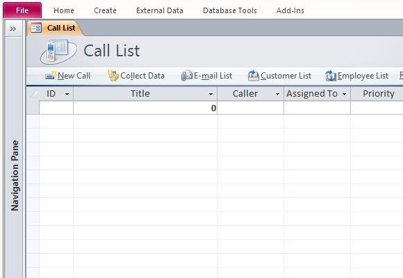 How To Assign And Track Status Of Customer Calls in Microsoft Access