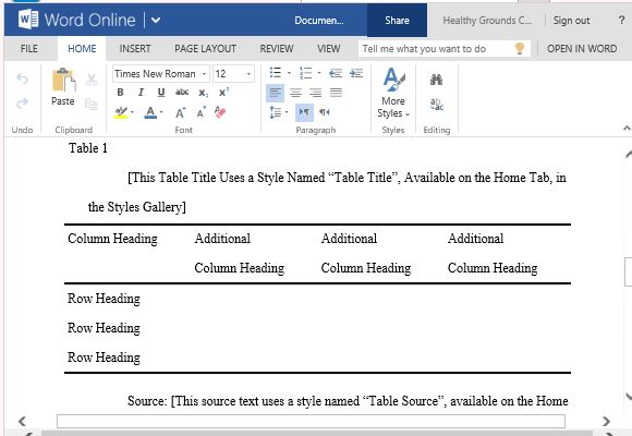 MLA Style Paper Template For Word With MLA Guidelines And Instructions - Mla Format For Word