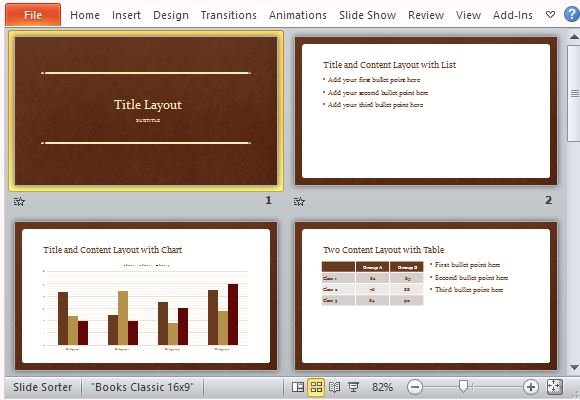Standard, Timeless Template for All Types of Presentations - FPPT