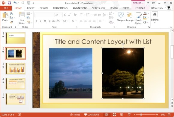 Create Travel Slideshows in PowerPoint With Expedition Template
