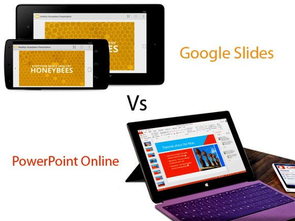 Google Slides Vs PowerPoint Online The Cloud Presentation Battle - Google Presentations Templates