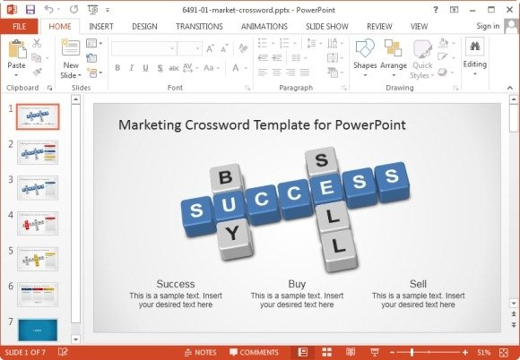 Awesome Marketing Plan Templates For PowerPoint - market template