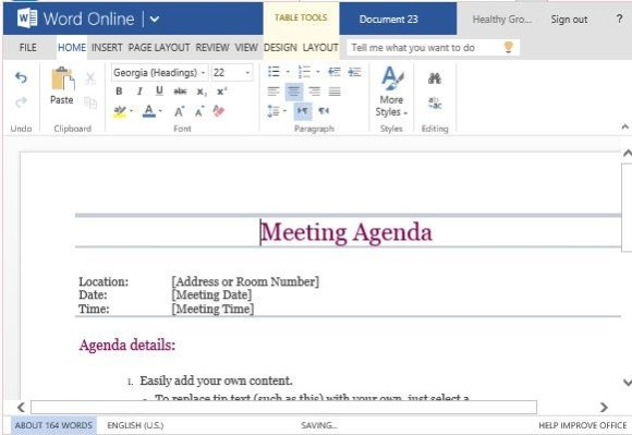 Microsoft Office Meeting Agenda Template - Fiveoutsiders - microsoft agenda template