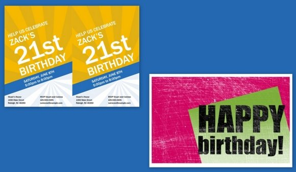 Birthday Invitation Maker Templates For PowerPoint