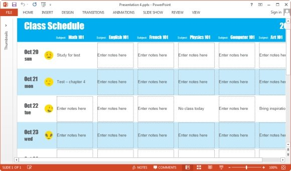 create a schedule online free - Onwebioinnovate