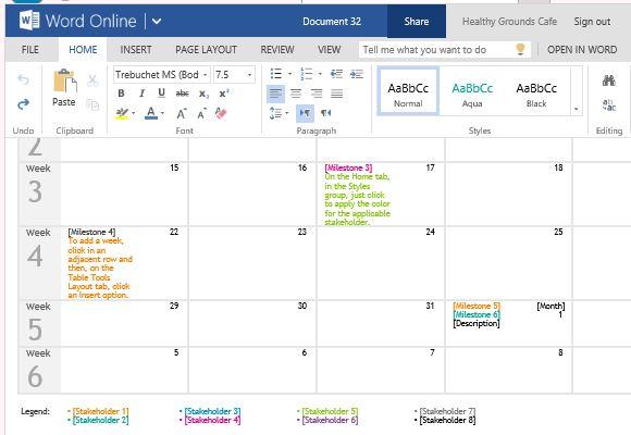 timeline calendar template - Boatjeremyeaton
