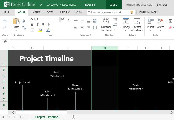 How To Easily Create Project Timeline in Excel
