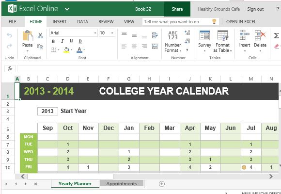 calendars for college students - Onwebioinnovate