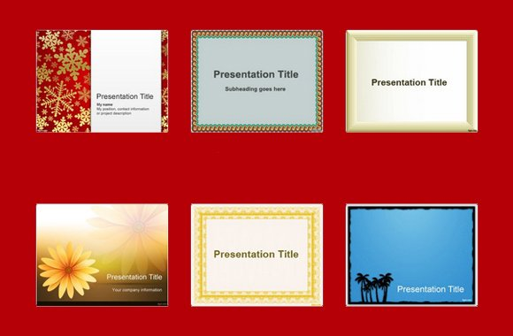 Top 10 Free Border Templates For PowerPoint - Free Paper Templates With Borders