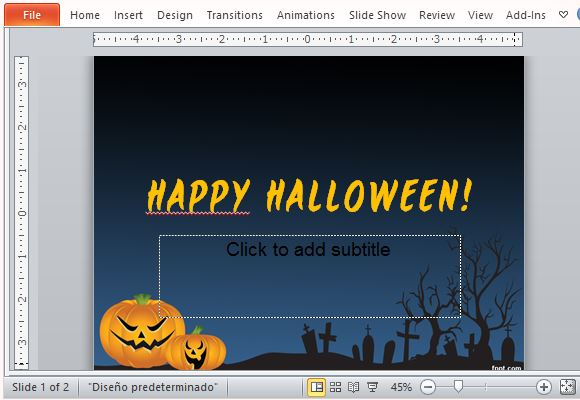 Best Free Halloween Templates For PowerPoint