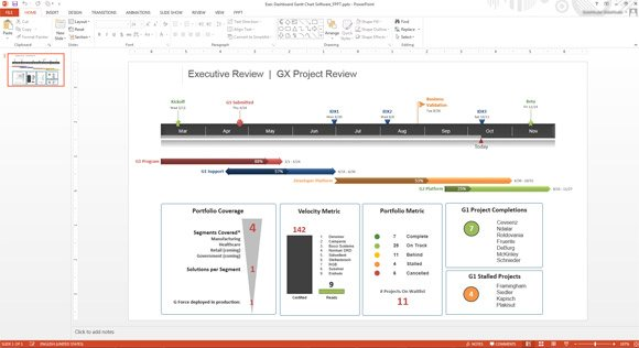 Project Presentation Tip Include Project Visuals on your Scorecard - Presentation Project