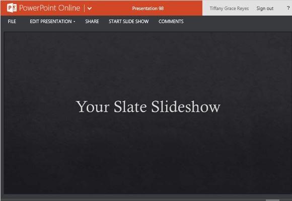 Slate Design PowerPoint Template