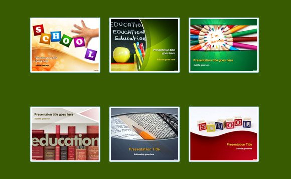 power point template free education