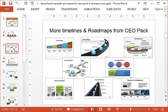 How To Draw A 3D Roadmap in PowerPoint