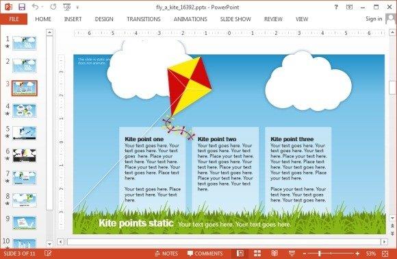 Kite-template-for-PowerPointjpg - FPPT