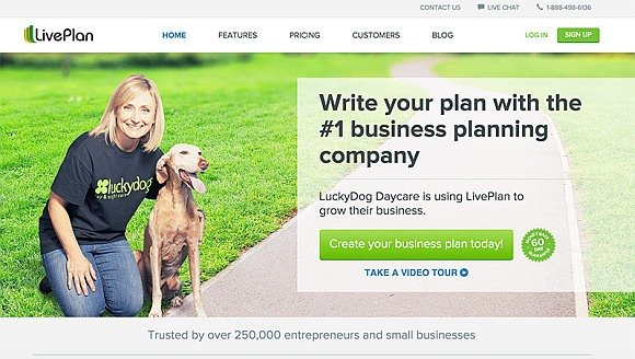 LivePlan Create Professional Business Plans Using Hundreds Of Samples - professional business plan