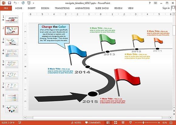Animated Timeline Maker Templates For PowerPoint - powerpoint timeline