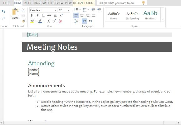 make-meetings-productive-with-a-minutes-and-agenda-template - FPPT
