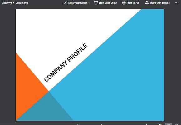 Angles Modern Background PowerPoint Template
