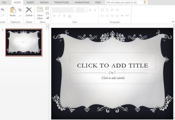 Couture PowerPoint Template