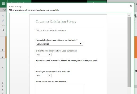 Customer Satisfaction Survey Template For Excel - customer satisfaction survey template