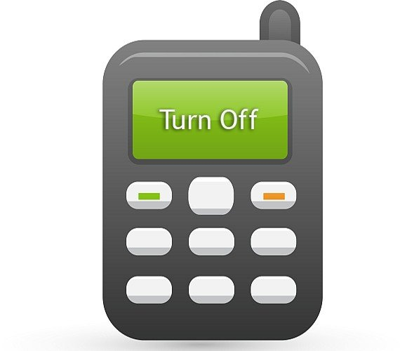 Turn Off Cell Phone Poster Templates For Word