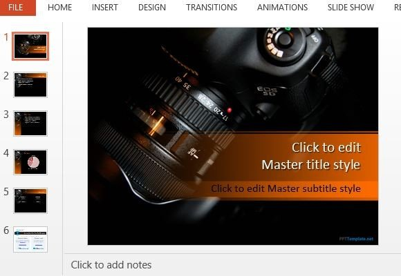 Best Photography PowerPoint Templates