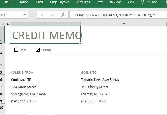 credit-and-debit-memo-template-in-excel - FPPT