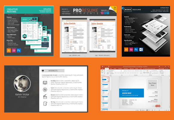Adobe Illustrator Tutorial How To Create An Impressive Cv Top 11 Professional Resume Templates For Making The