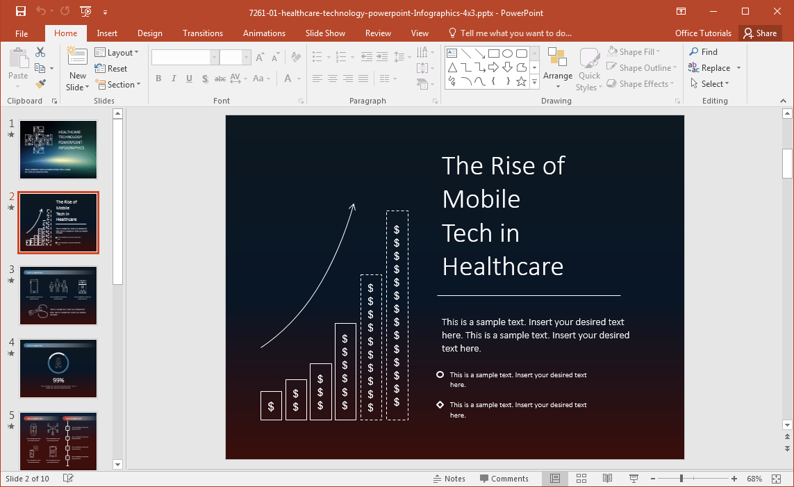 free healthcare powerpoint templates