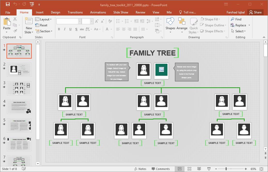 Family Tree Timeline Template Costumepartyrun