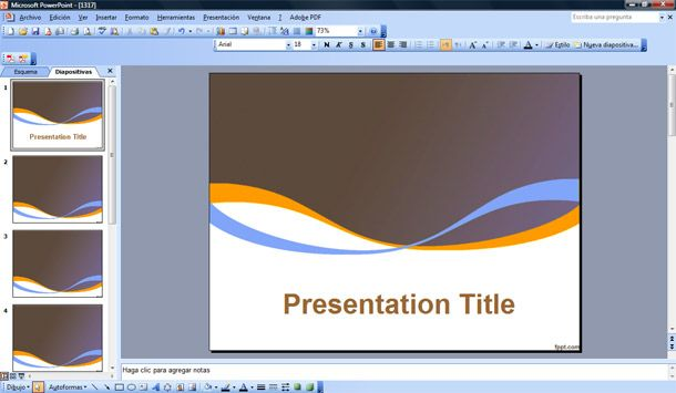scientific powerpoint