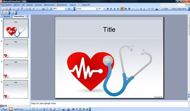 Plantillas PowerPoint de Medicina gratis - plantillas powerpoint