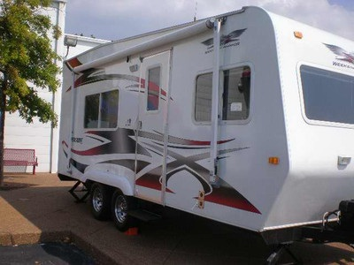 2007 Weekend Warrior SX1800 Toy Hauler - Travel Trailers Classifieds