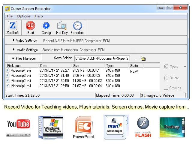 Screen Video Recorder - Super Screen Recorder is a video screen
