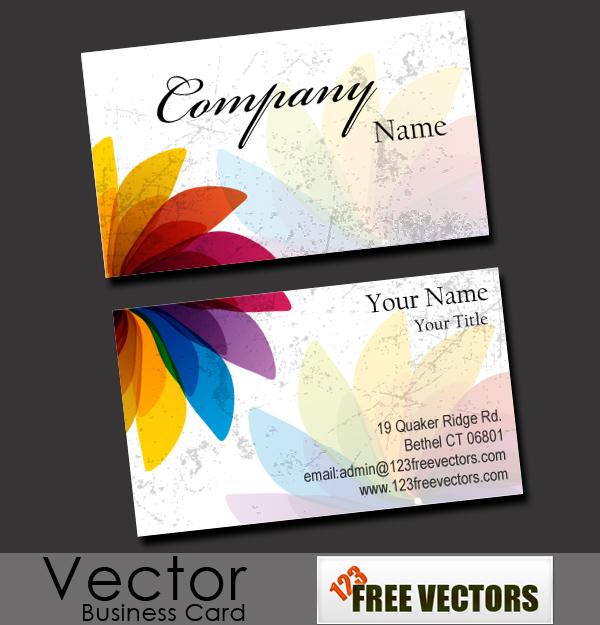Free Business Card Vector Download Free Vector Art Free-Vectors