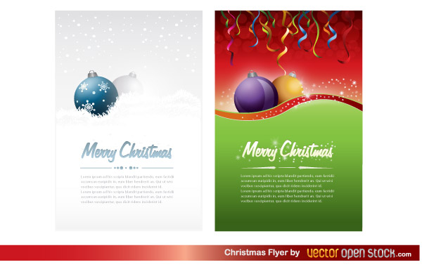 Free Christmas Menu Template Downloads – Christmas Menu Word Template