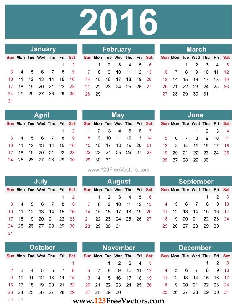 New York School Year Calendar Templates Mount Vernon City School District New York State 2016 Calendar With Us Holidays Printable Calendar