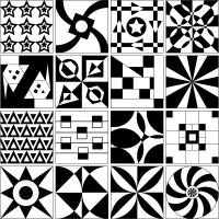 Vector Tile Design Patterns | Download Free Vector Art ...