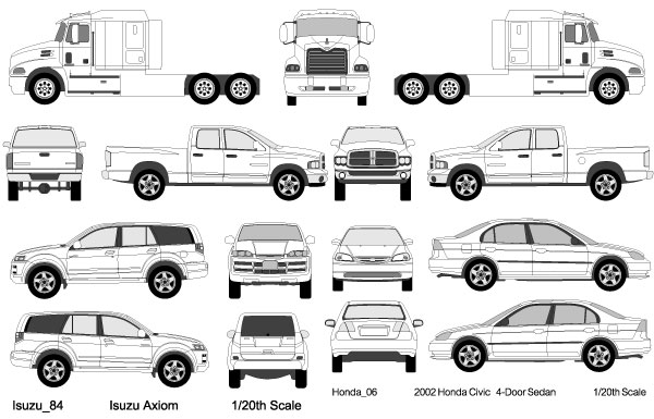 Magnificent Vector Vehicle Templates Festooning - Resume Ideas