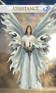 Assistance Angel - Angels of the Morning Oracle Deck by Dyan Gar