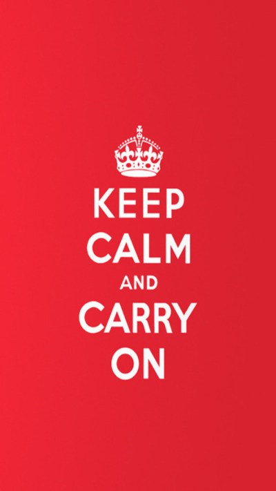 Keep Calm and Carry On Wallpaper - Free iPhone Wallpapers