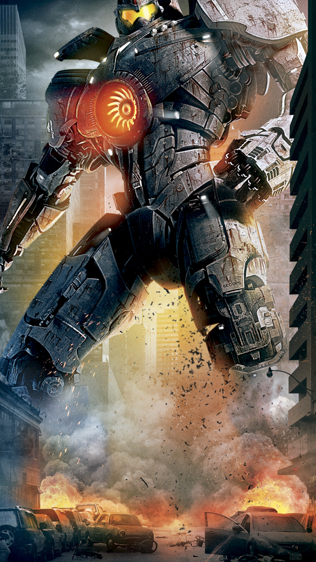 3d Wallpaper Parallax Free Pacific Rim Poster Iphone 6 6 Plus And Iphone 5 4 Wallpapers