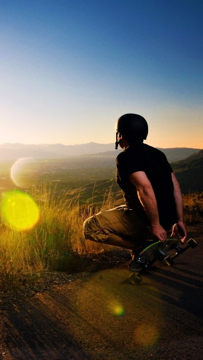 Skateboard Player Outdoor Wallpaper - Free iPhone Wallpapers