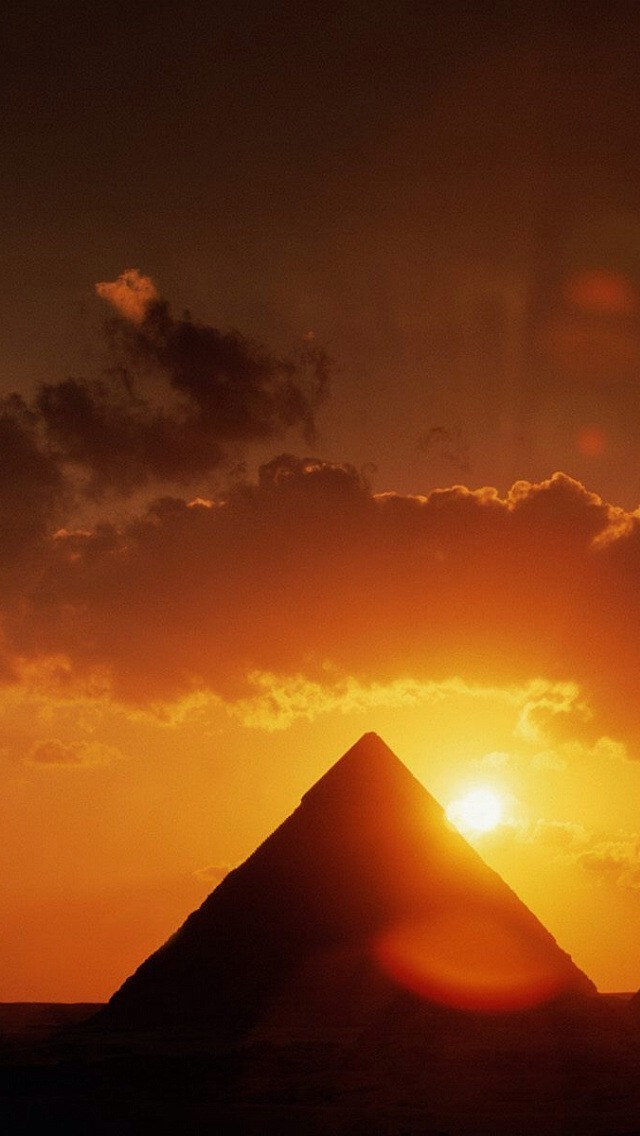 3d Effect Wallpapers Free Download Pyramid Under The Sunlight Iphone 6 6 Plus And Iphone 5
