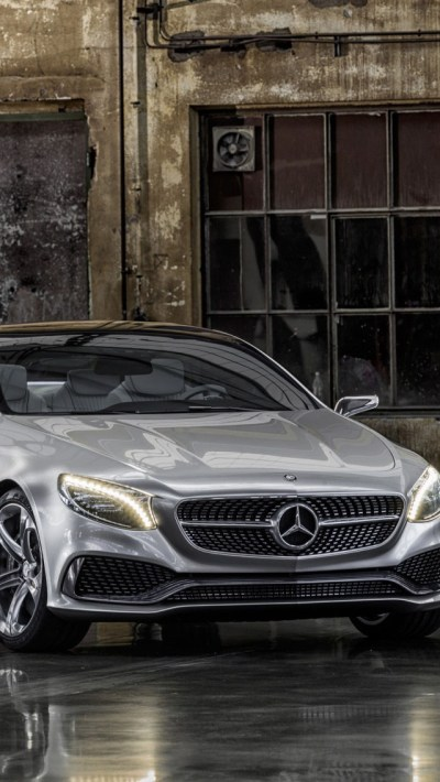 2013 Mercedes Benz S Class Coupe iPhone 6 / 6 Plus and iPhone 5/4 Wallpapers